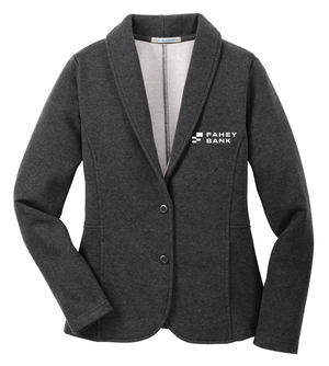 Port Authority® Ladies Fleece Blazer FAHEY Bank