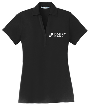Port Authority® Ladies Silk Touch™ Y-Neck Polo FAHEY Bank