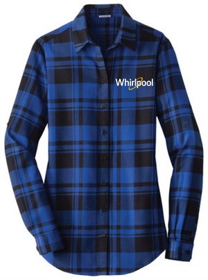 Port Authority® Plaid Flannel Shirt (Whirlpool)