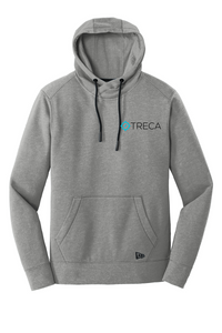 Treca Embroidered, New Era® Tri-Blend Fleece Pullover Hoodie