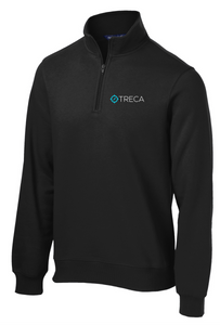 Treca Embroidred 1/4 Sweatshirt