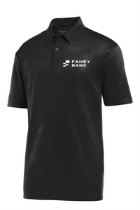 Sport-Tek® Embossed PosiCharge® Tough Polo® FAHEY Bank