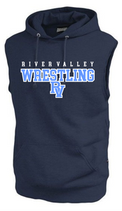 River Valley Wrestling Sleeveless Hoodie