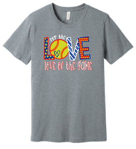for the LOVE of the game (soft t)