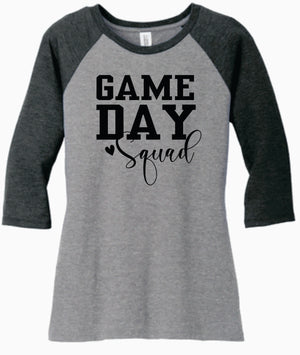 Delaware Hayes GAME DAY Raglan w/Sleeves