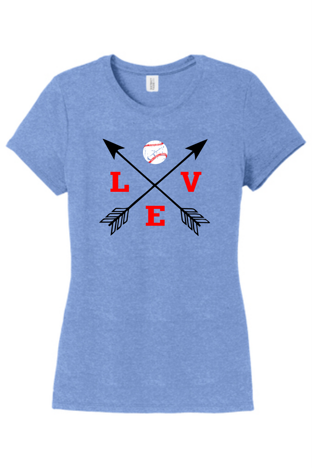 Love Baseball Arrows