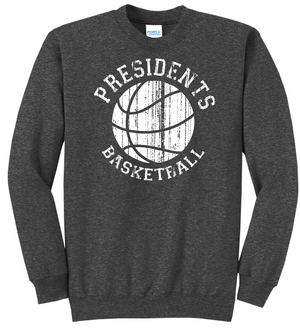Presidents Basketball Crewneck