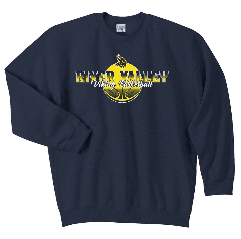 River Valley Basketball Crewneck