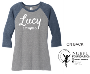 Lucy Strong - District ® Perfect Tri® 3/4-Sleeve Raglan