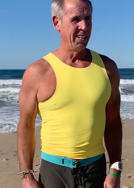 Men's Paddle Tank ~ Yellow