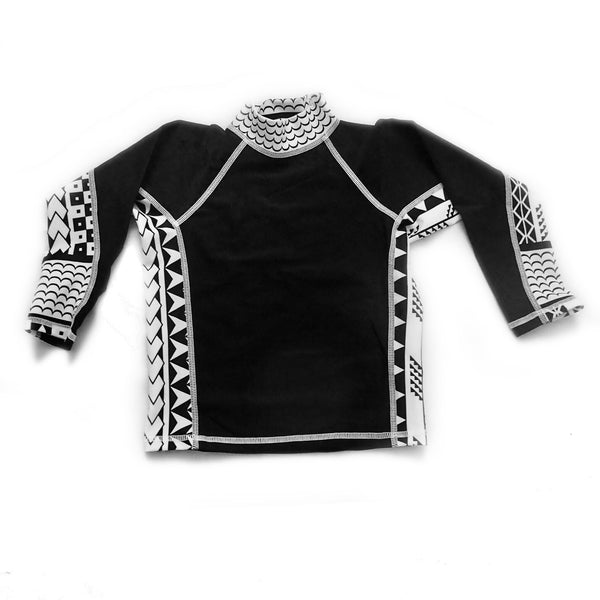Boys Long Sleeve Rashguards - Tribes