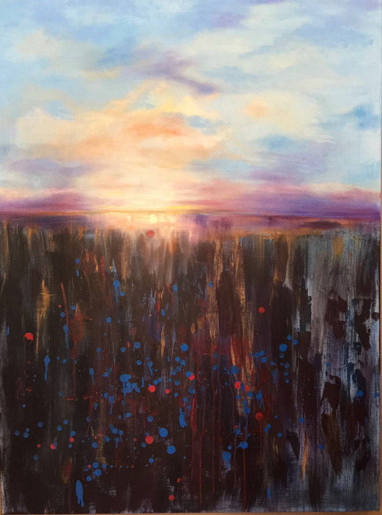 Sundown- Oil on Canvas 36x48 in