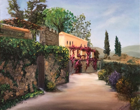 "SOLD ""Toscana"" Oil on Canvas 16x 20in -Available as Giclee"