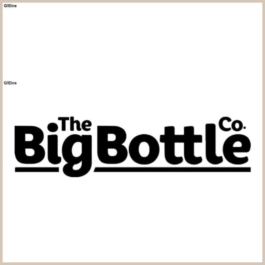 BigBottle 2 2L Double Black - Trinkflasche