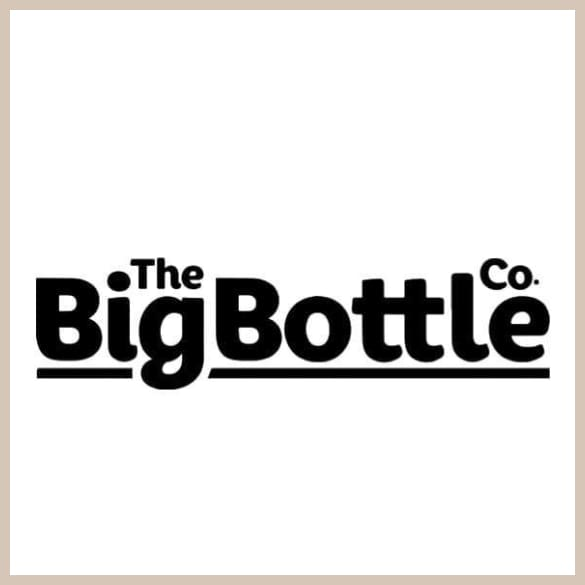 BigBottle Black Rose Traveller 1 5l - Trinkflasche