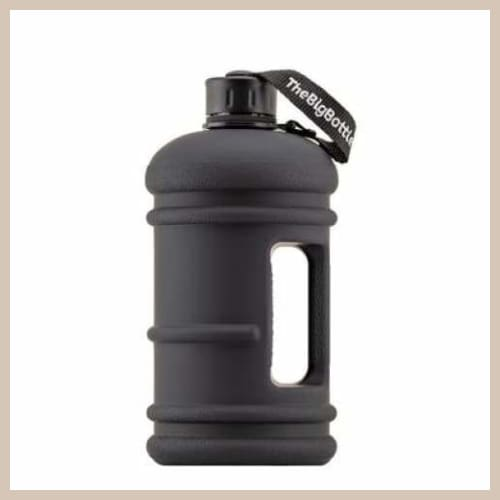 Just Arrived! BigBottle Jet Black Traveller 1 5l - Trinkflasche