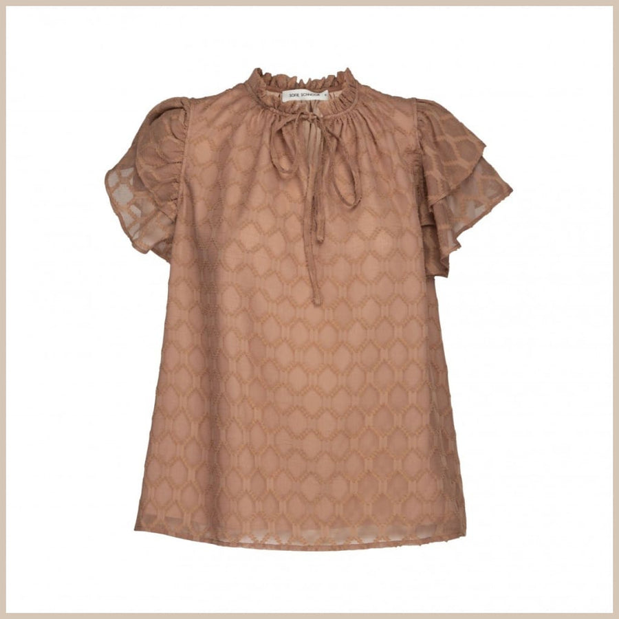 Seraphina Bluse Sofie Schnoor - XS / rose/camel - Bluse