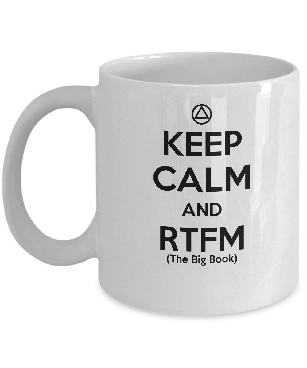 Keep Calm & RTFM - 12steptees
