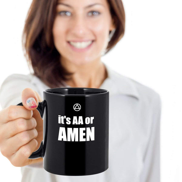 It's AA or AMEN - 12steptees