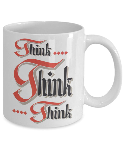 Think Think Think - 12steptees