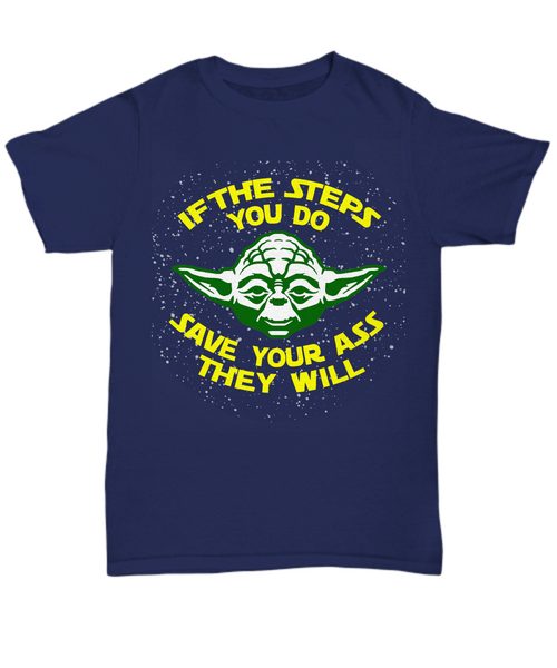 Yoda's Steps Advice - 12steptees