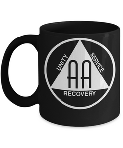 Alcoholics Anonymous Logo - 12steptees.com