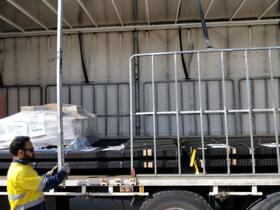 Woven wire screens delivered up to QLD