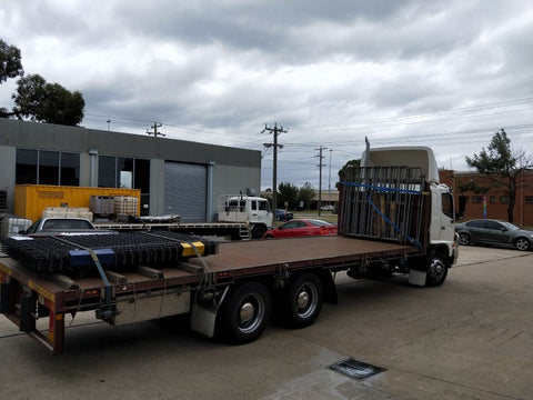 Wire screen slabs up to QLD