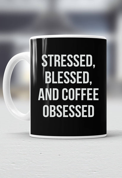 Coffee Obsessed Mug
