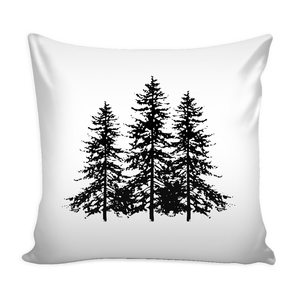 Spruce Trees Pillow Case