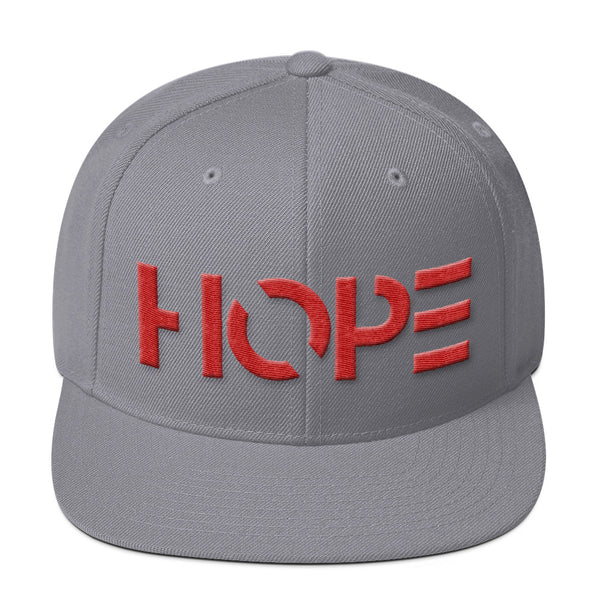 HOPE Wool Blend Snapback (3D Puff)