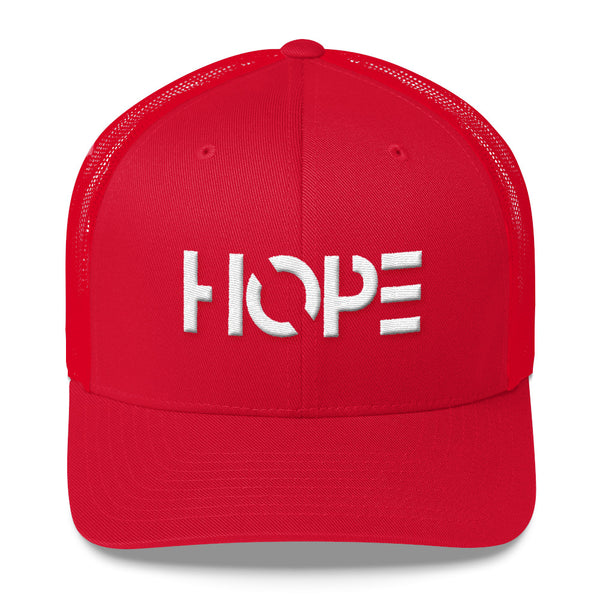 HOPE Trucker Cap (3-D Puff Embroidery)