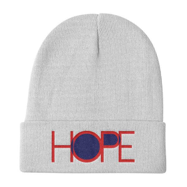 HOPE Knit Beanie (Flat Embroidery)