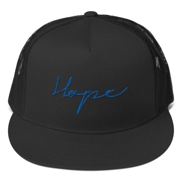 HOPE Trucker Cap (Flat Embroidery)