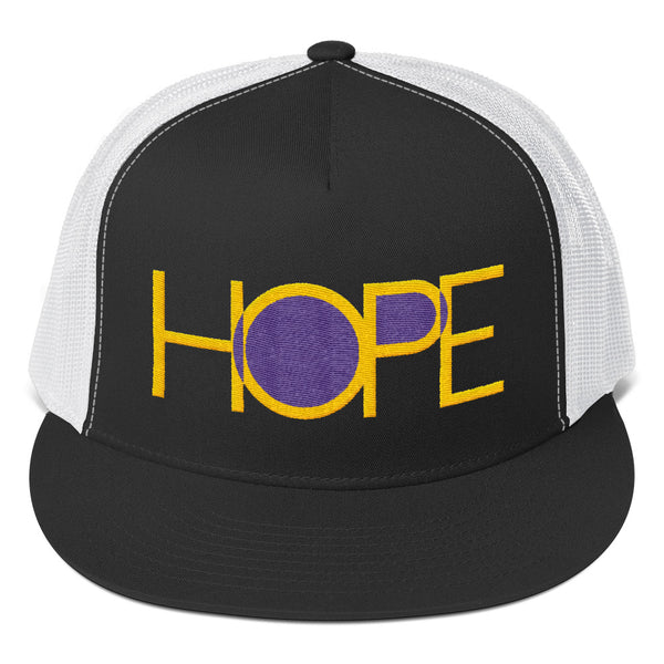 HOPE Trucker Hat (Flat Embroidery)