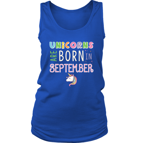 Unicorns Are Born in September T-Shirt