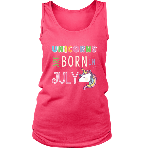 Unicorns Are Born in July T-Shirt