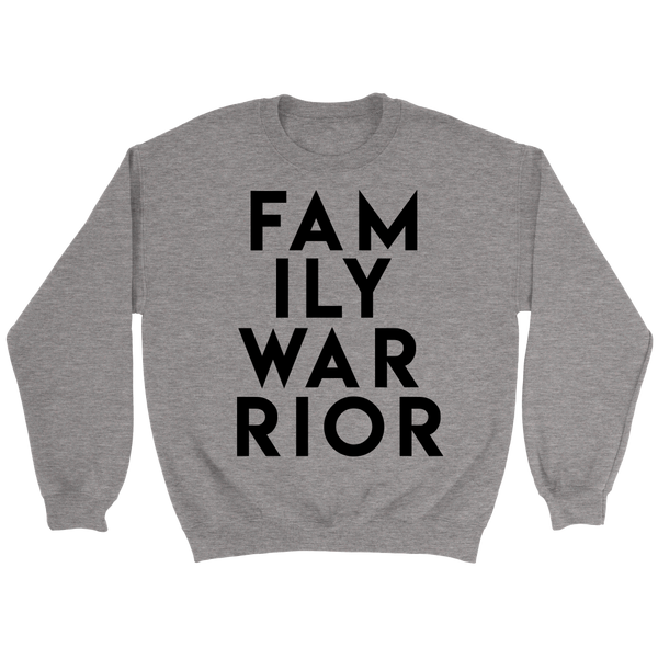 Family Warrior Hoodie and Sweatshirt