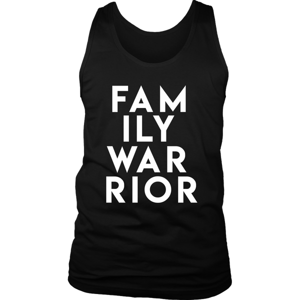 Family Warrior Men's Shirt and Tank Top