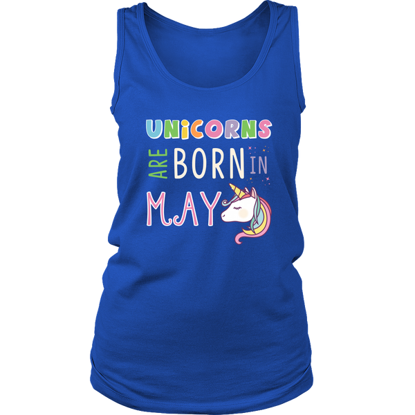 Unicorns Are Born in May T-Shirt