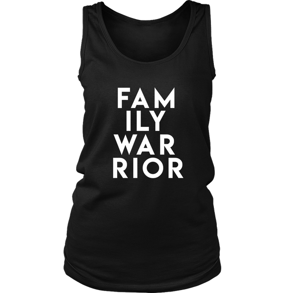 Family Warrior Women's Shirt and Tank Top