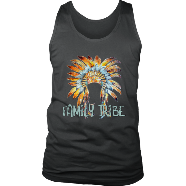 Headdress Men's Shirt and Tank Top