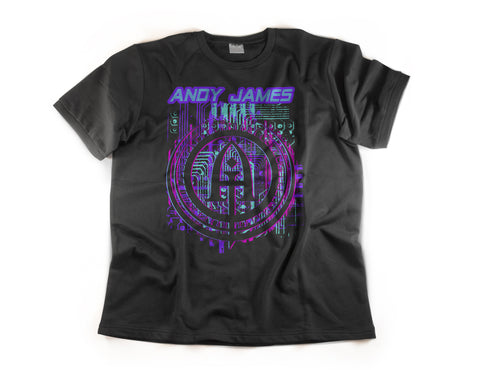 Andy James Circuits T-shirt