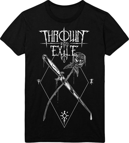 Thrown Into Exile - Rose Death Tee