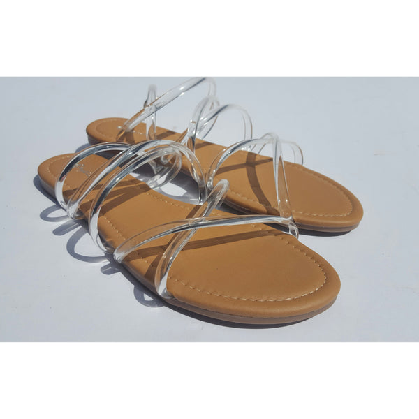 CARLA - Clear Sandal - FINAL SALE