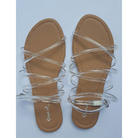 CARLA - Clear Women's Sandal - FINAL SALE