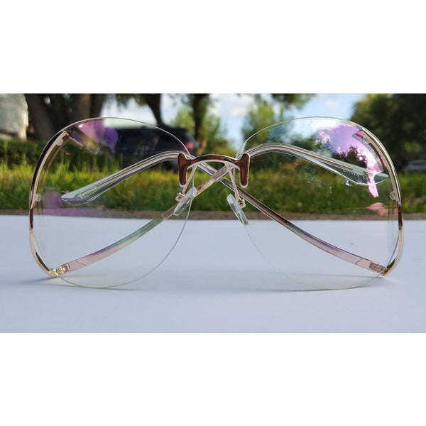 Socialite Sunglasses (Clear)