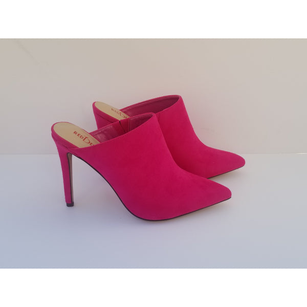 LUST - Hot Pink Mules