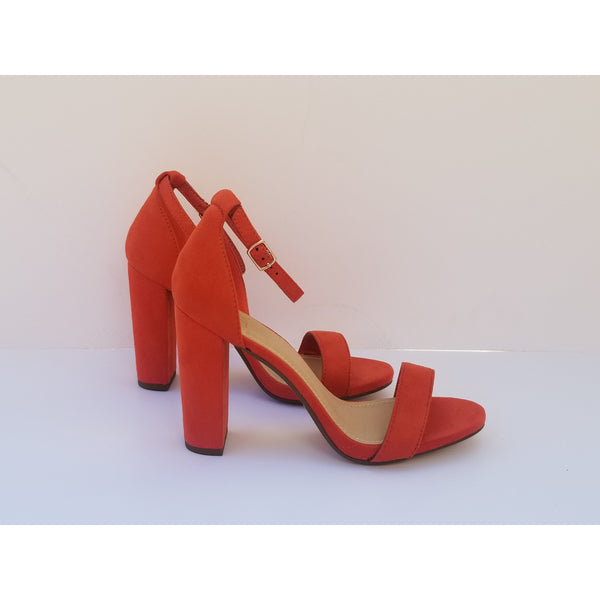 DANA - Women's Orange Pumps