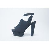 LENA - Navy Blue Pumps - FINAL SALE